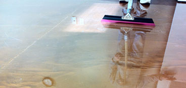 Metallic Epoxy Floor System